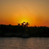 Sunset over River Nile