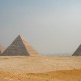 The Pyramids of Khufu, Kefren & Mikerinos
