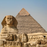 The Sphinx & The Pyramid of Khefren