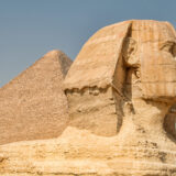 The Sphinx & The Pyramid of Khufu