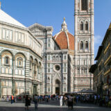 The Cathedral, the Baptistery and Giotto's Campanile