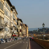 Along the Arno River