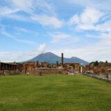 The Forum & Mount Vesuvius