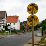 Traffic signs for tanks? Germany.