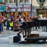 Piano Tunes in the Cathedral Square