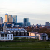 Old Royal Naval College & Canary Wharf