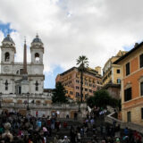 Trinita dei Monti & Spanish Steps