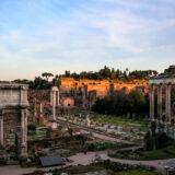 Arch of Septimius Severus & Roman Forum
