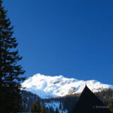 White Peaks, Blue Sky