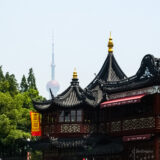 City God Temple & Oriental Pearl Tower