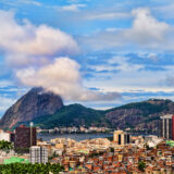 The Mountain, the Seafront Buildings, the Favelas