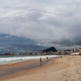 Copacabana on a Stormy Day